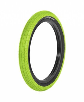 "Sunday 20x2.4"" Sunday Street Sweeper Green/Blackwall Tire"