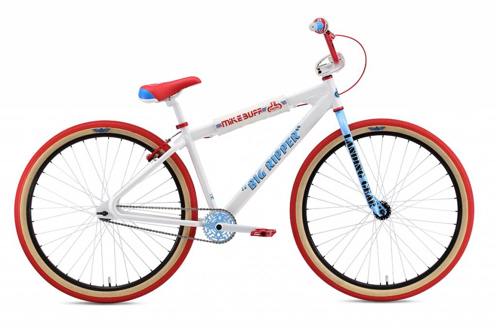 "SE 2018 SE Mike Buff Big Ripper 29"" White Bike"