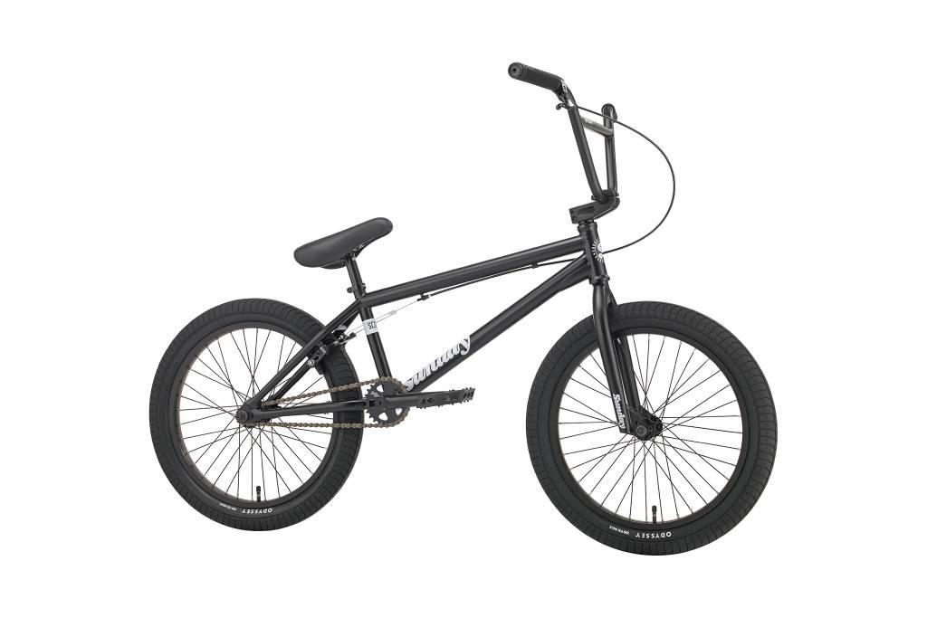 """Sunday 2018 Sunday Scout 20.85"""" Semi-Matte Black Bike"""