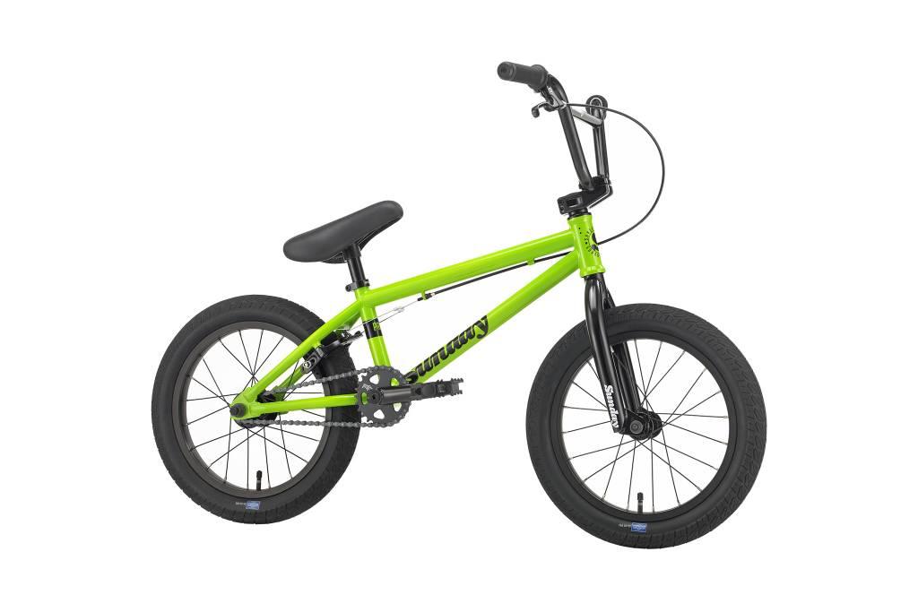 "Sunday 2018 Sunday Primer 16"" Fluorescent Green Bike"