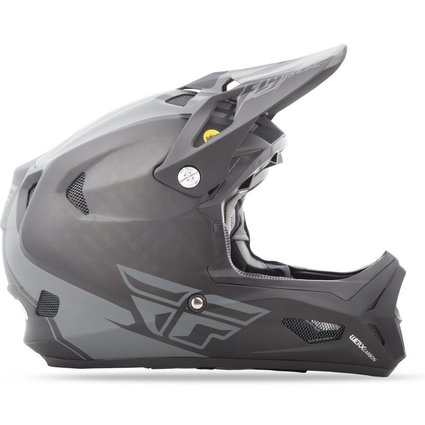 Fly Racing 2018 Fly Werx Mips Rival XSmall Black/Coal Helmet