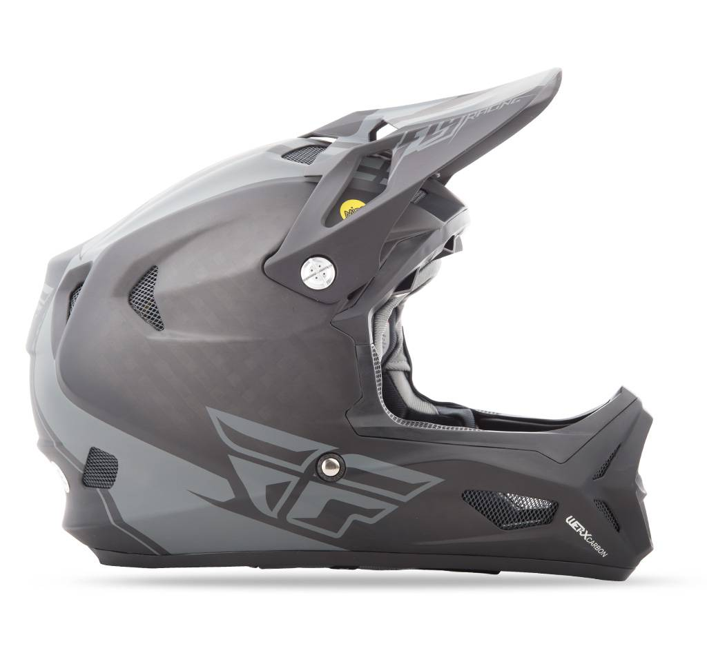 Fly Racing 2018 Fly Werx Mips Rival Large Black/Coal Helmet