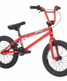 "Subrosa 2018 Subrosa Altus 16"" Bike Satin Fury Red"