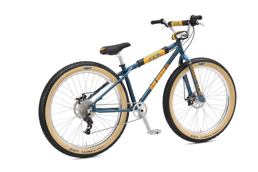 SE 2018 SE OM-DURO 27.5+ BLUE SPARKLE BIKE