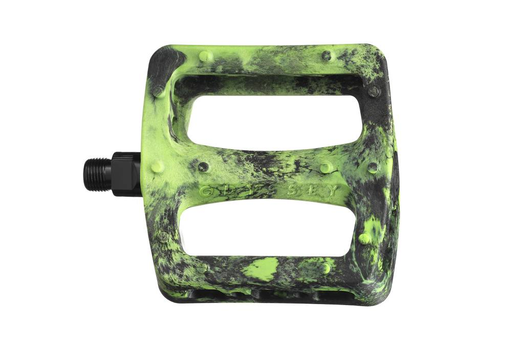 Odyssey Odyssey Twisted Pro Black/Flo Green Pedals