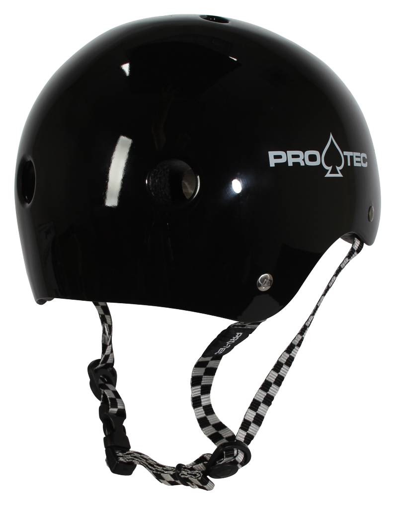 Pro-Tec Pro-tec Classic Certified Black Checker Large Helmet
