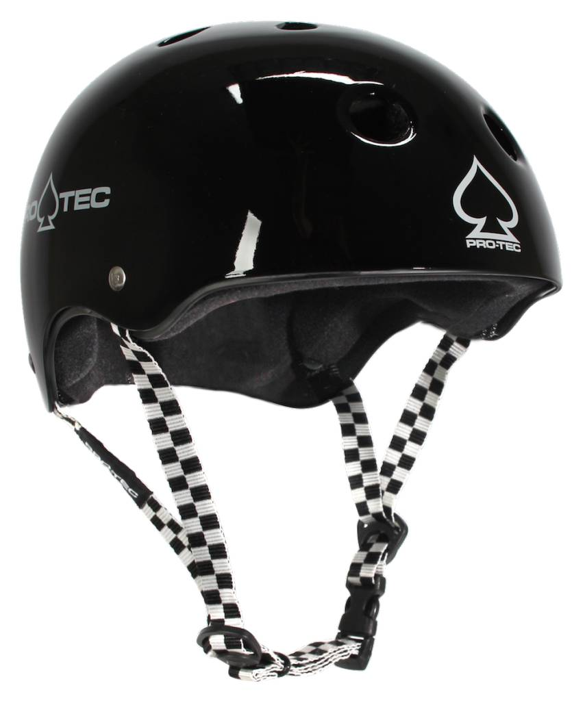 Pro-Tec Pro-tec Classic Certified Black Checker Small Helmet