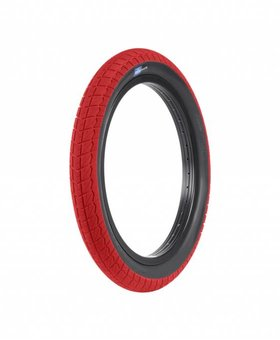 """Sunday 18x2.20"""" Sunday Current Red w/Blackwall Tire"""