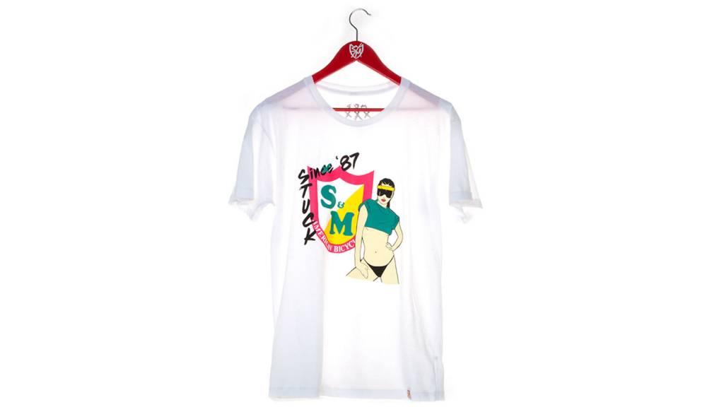 S&M S&M Nagel Please Mens White Med T-Shirt