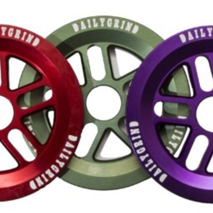 Daily Grind Daily Grind Millennium V2 Purple Sprocket Guard 25T