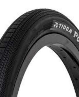 Tioga Tioga 20x1-1/8 Powerblock Wire Black Tire