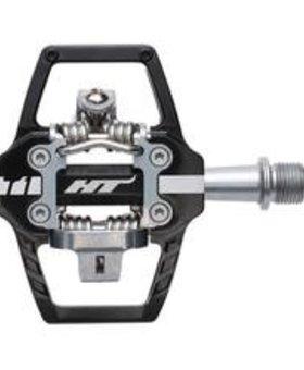 HT Pedals HT Pedals T1-SX Clipless Platform Chromo Black Pedals