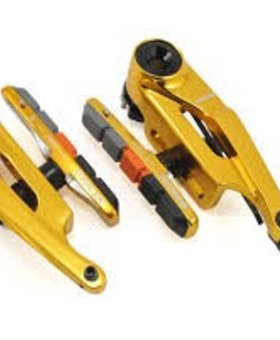 Box Components Box Eclipse Mini (85mm) Gold Linear Pull Brakes