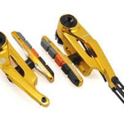 Box Components Box Eclipse Mini (85mm) Gold Linear Pull Brakes