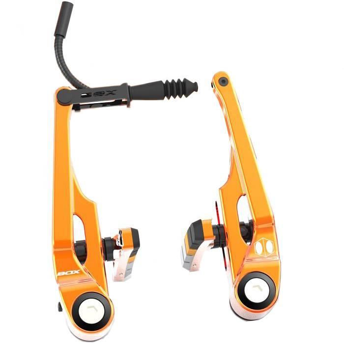 Box Components Box Eclipse Pro (105mm) Orange Linear Pull Brakes