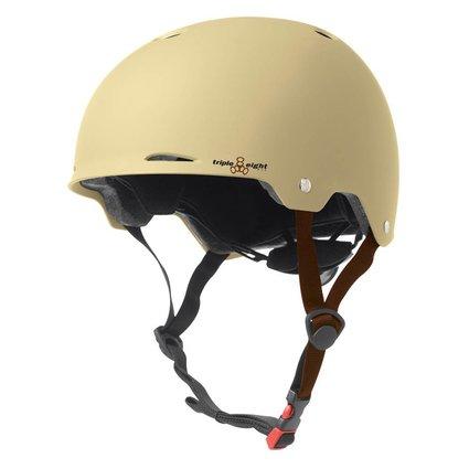 Triple 8 Triple Eight Gotham Cream Small/Medium Helmet