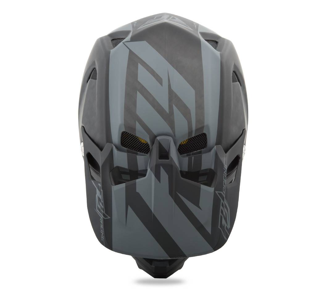 Fly Racing 2018 Fly Werx Mips Rival Large Black/Coal Helmet