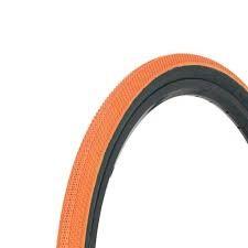 """Vee Tire Co. 20x1-1/8"""" Vee Rubber Speedster Orange/Black Wall Tire"""
