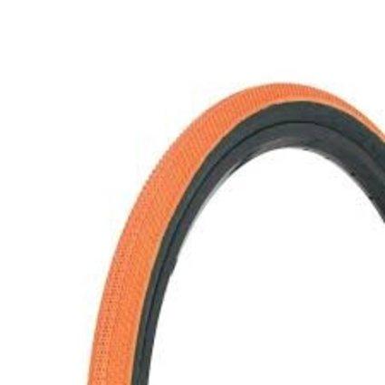 """Vee Tire Co. 20x1.5"""" Vee Rubber Speedster Orange/Black Wall Tire"""
