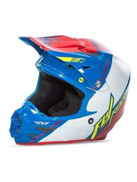 Fly Racing 2017 Fly Racing F2 Carbon Mips Canard Replica Medium Helmet