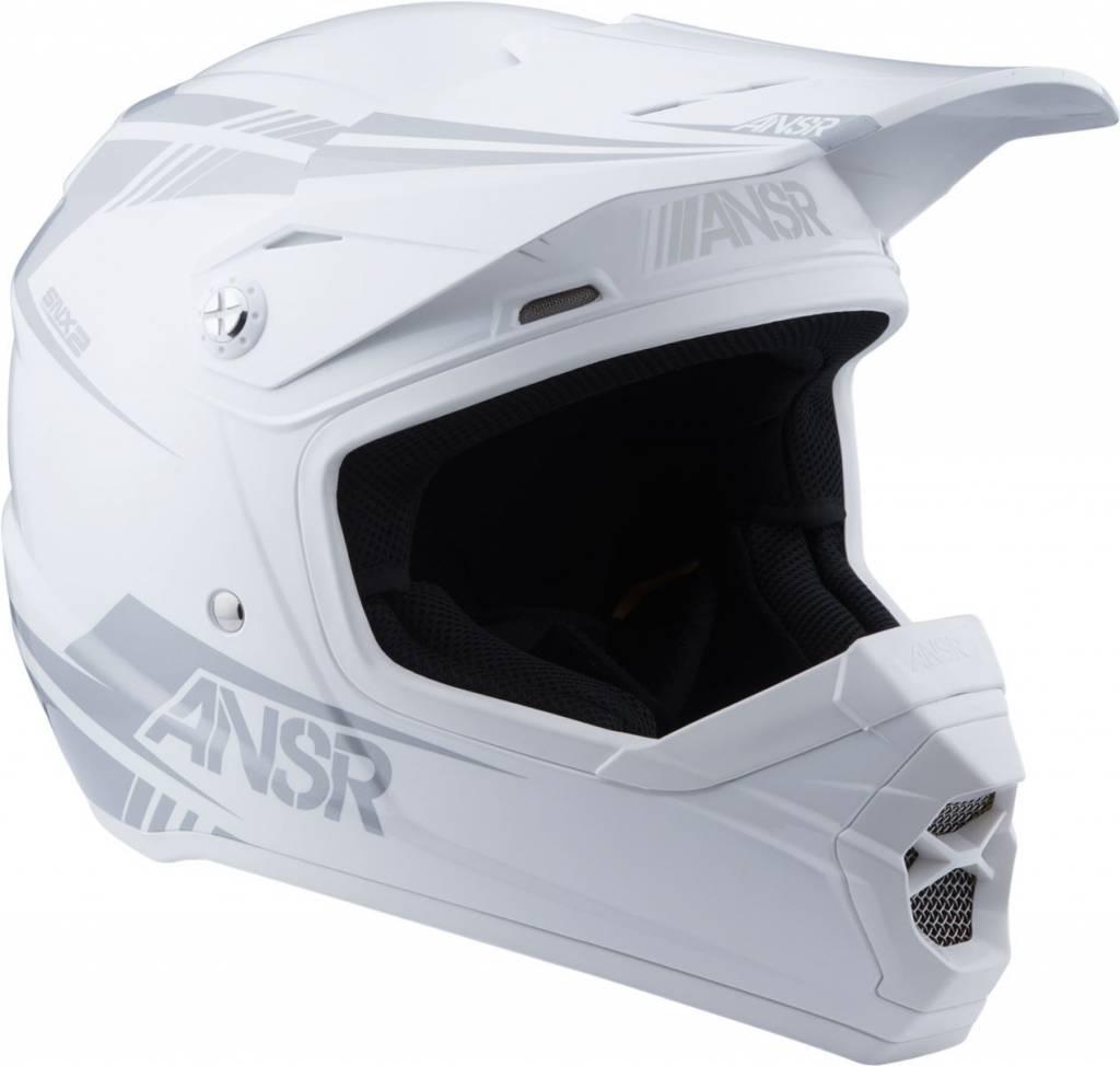 Answer Racing Answer Racing SNX2 White Youth Medium Helmet