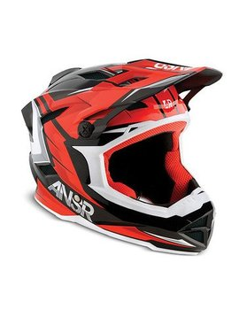 Answer Racing Answer Racing Faze Red/Black Large Helmet