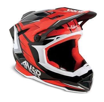Answer Racing Answer Racing Faze Red/Black Large Helmet