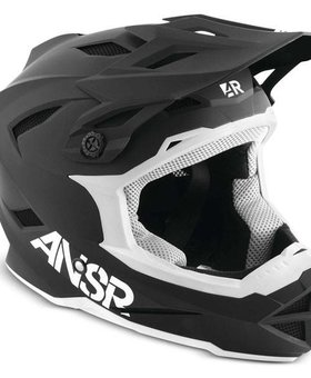 Answer Racing Answer Racing Shadow Black Small Helmet