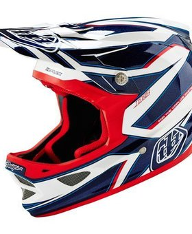 Troy Lee Designs Troy Lee D3 Composite Reflex White Small Helmet