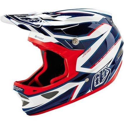 Troy Lee Designs Troy Lee D3 Composite Reflex White Small Helmet