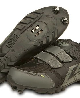 Fly Racing Fly Racing Talon II Black/Gray Size 4 Shoes