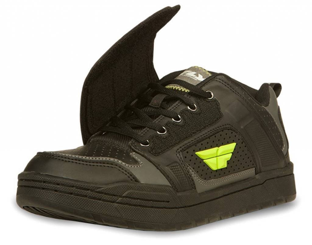 Fly Racing Fly Racing Transfer Black/Hi-Viz Size 9 Shoes