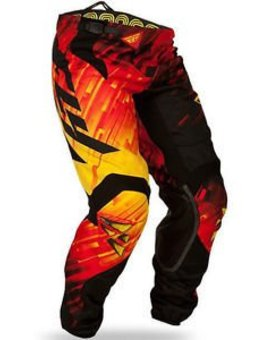 Fly Racing Fly Racing Bicycle Red/Black/Yellow Size 28 Pants