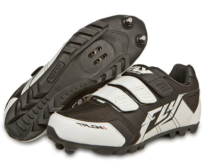 Fly Racing Fly Racing Talon II Black/White Size 2 Shoes