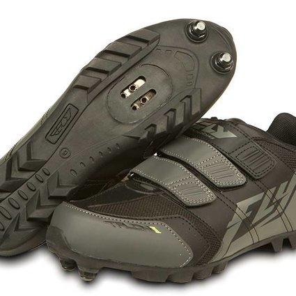 Fly Racing Fly Racing Talon II Black/Gray Size 2 Shoes