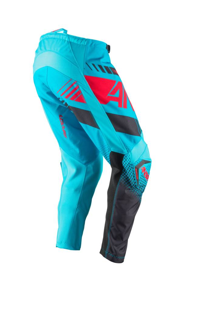 Answer Racing 2017 Answer Syncron Cyan/Red Size 28 Pants