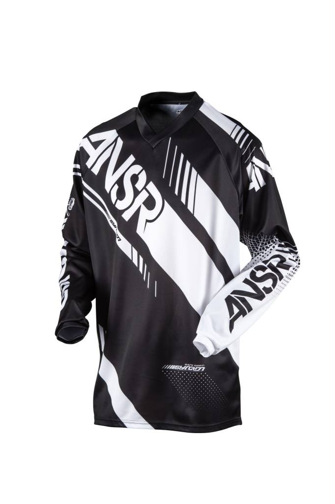 Answer Racing 2017 Answer Syncron Black/White Small Jersey