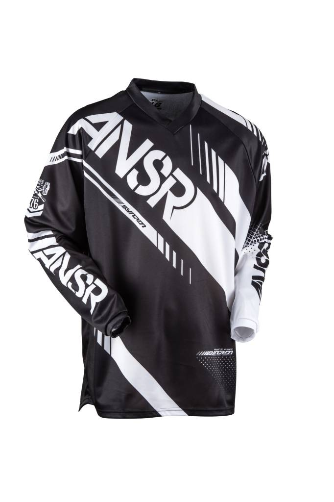 Answer Racing 2017 Answer Syncron Black/White Youth XLarge Jersey