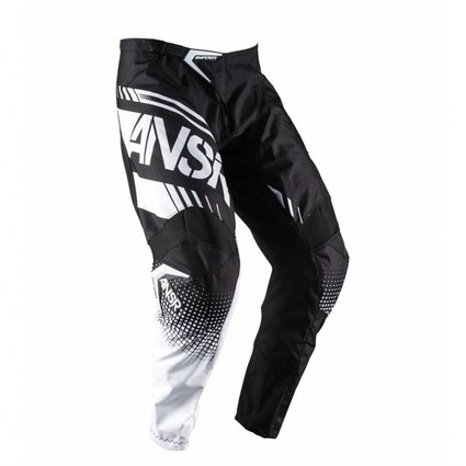 Answer Racing 2017 Answer Syncron Black/White Youth 28 Pants
