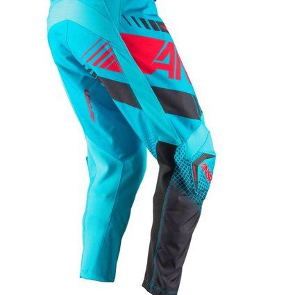 Answer Racing 2017 Answer Syncron Cyan/Red Youth 22 Pants