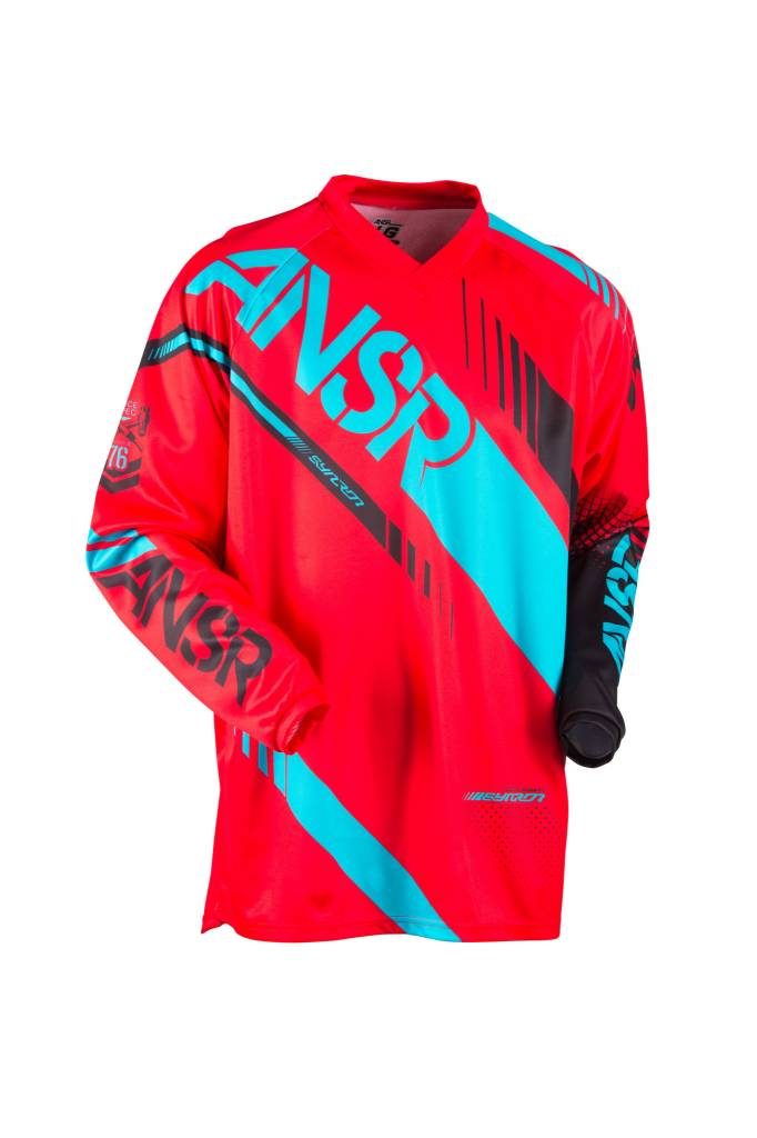 Answer Racing 2017 Answer Syncron Red/Teal Large Jersey