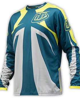 Troy Lee Designs Troy Lee Sprint Reflex Dirty Blue YLarge Jersey