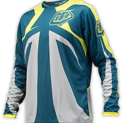 Troy Lee Designs Troy Lee Sprint Reflex Dirty Blue YXLarge Jersey