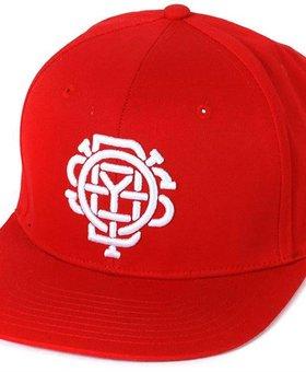 Odyssey Odyssey Monogram Red Snapback Hat