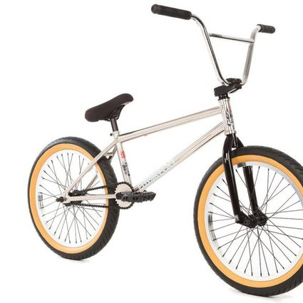 Fit 2018 Fit Long Brushed Chrome Complete Bike