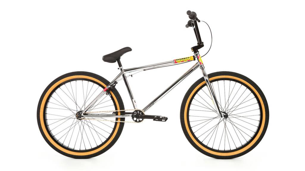 "Fit 2018 Fit Aitken 26"" Chrome Complete Bike"
