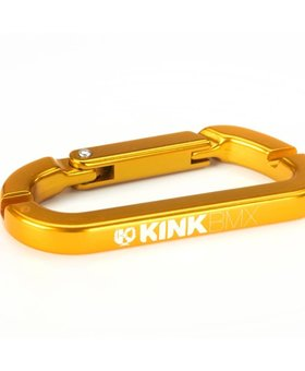 Kink Kink Carabiner Gold Spoke Wrench