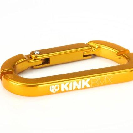 Kink Kink Carabiner Gold Spoke Wrench