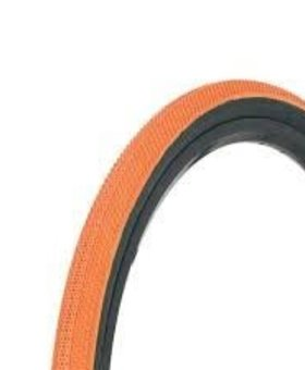 "Vee Tire Co. 20x1.75"" Vee Rubber Speedster Orange/Black Wall Tire"