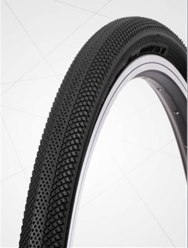 "Vee Tire Co. 20x1.95"" Vee Rubber Speedster Black Tire"